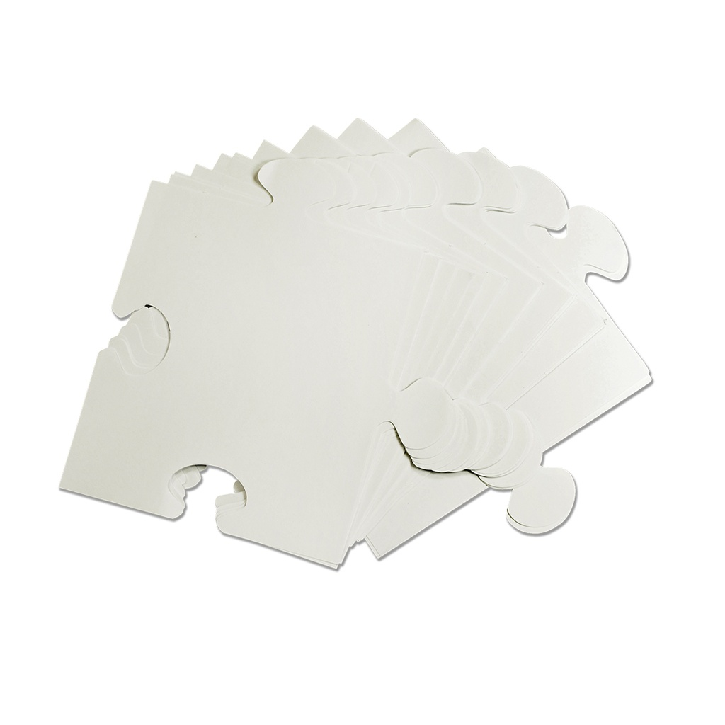 We All Fit Together Giant Puzzle Pieces 100/Pkg