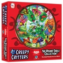 500 Piece Creepy Critters Round Table Puzzle