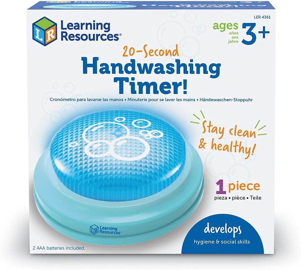 20 Second Handwashing Timer