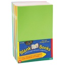 "20ct Bright Colors Blank Books 5.5"" x 8.5"""