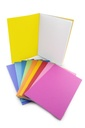 "6ct Bright Colors Blank Books 8.5"" x 11"""