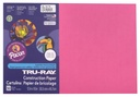 12x18 Dark Pink Sulphite Construction Paper 50ct Pack