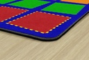 10ft 6in x 13ft 2in Quilted Seating Rug Primary