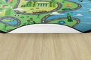 12' Round Ride Along Rug Rug