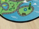 6' Round Ride Along Rug Rug
