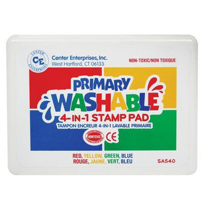 4 in 1 Color Washable Stamp Pad
