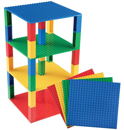 "6"" x 6"" Brik Towers 12 Pack (00013 SB)"