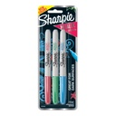 3ct Sharpie Red Green Blue Metallic Permanent Markers