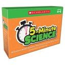 5 Minute Science Activity Cards for Grades 4-6