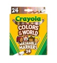 24ct Crayola Colors of the World Markers