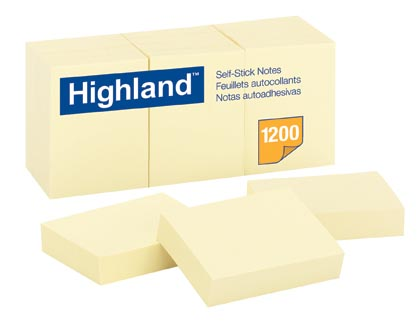 1 1/2 x 2 in Highland Notes 12ct Pack