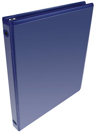 "1"" Light Blue View Binder"