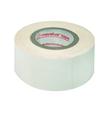"1"" x 324"" White Mavalus Tape Roll"