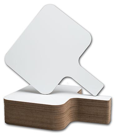 12ct Rectangular Dry Erase Paddle (12032)