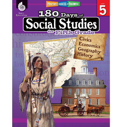 180 Days of Social Studies for 5th Grade