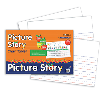 25sht Picture Story Chart Tablet 24 x 16 Inch