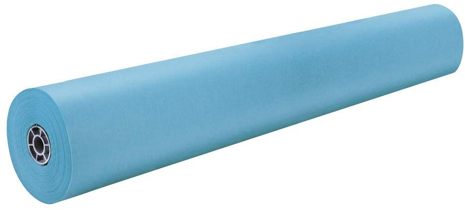 36in x 1000ft Sky Blue ArtKraft Paper Roll