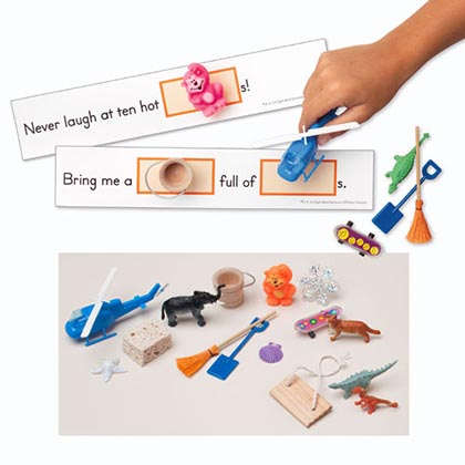 3D Sight Word Sentences with Real life Objects Gr 3
