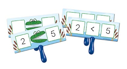 5ct Greater Gator Answer Boards Set