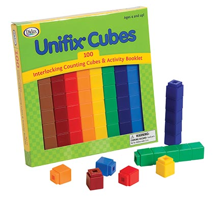 100ct Unifix Cubes