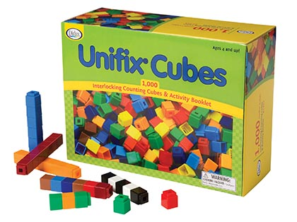 1000ct Unifix Cubes