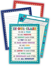 [6141 TCR] Marquee Classroom Management Chart Set