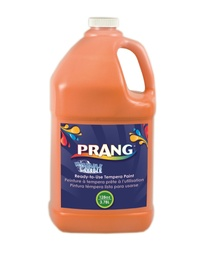 [10602 DIX] Prang Orange Gallon Washable Paint