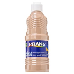 [10711 DIX] Prang Peach 16oz Ready to Use Washable Paint
