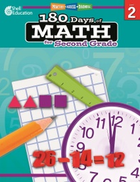 [50805 SHE] Practice Assess Diagnose 180 Days of Math Gr 2