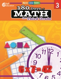 [50806 SHE] Practice Assess Diagnose 180 Days of Math Gr 3