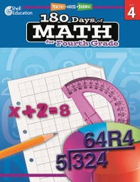 [50807 SHE] Practice Assess Diagnose 180 Days of Math Gr 4