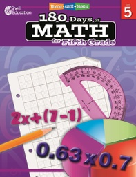 [50808 SHE] Practice Assess Diagnose 180 Days of Math Grade 5