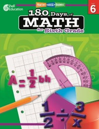 [50802 SHE] Practice Assess Diagnose 180 Days of Math Gr 6