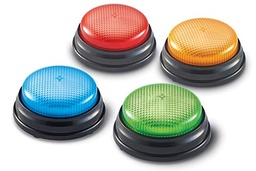 [3776 LER] Set of 4 Lights and Sounds Answer Buzzers