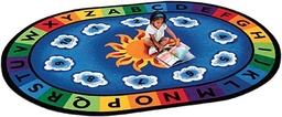 [9445 CFK] Sunny Day Learn & Play 4ft 5in x 5ft 10in Oval