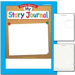 [311842 ELP] Zaner Bloser My Story Journal Gr Pre K
