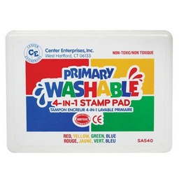 [540 CE] 4 in 1 Color Washable Stamp Pad
