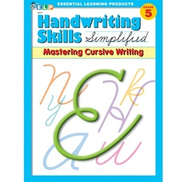 [229 ELP] Handwriting Skills Simplified Practice Book Gr 5