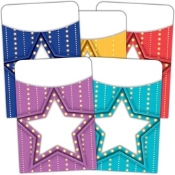 [5481 TCR] Marquee Library Pockets - Multi-Pack
