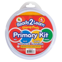 [6616 CE] Ready2Learn Primary Kit of 4 Circular Jumbo Stamp