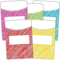 [3053 TCR] Scribble Library Pockets - Multi-Pack