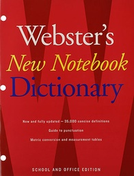 [747093 HOU] Websters New Notebook Dictionary Paperback