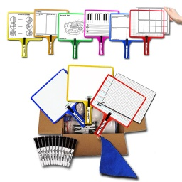 [5422 KS] KleenSlate Customizable Whiteboard Set of 12