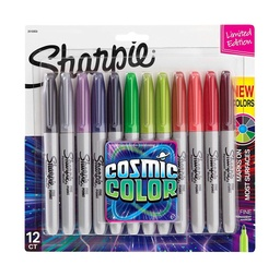 [2010958 SAN] 12ct Sharpie Cosmic Color Fine Point Permanent Markers