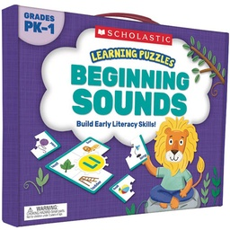 [823969 SC] Beginning Sounds Learning Puzzles
