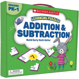 [823974 SC] Addition & Subtraction Learning Puzzles