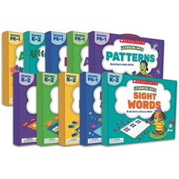[833543 SC] Scholastic Learning Mats Set of 10