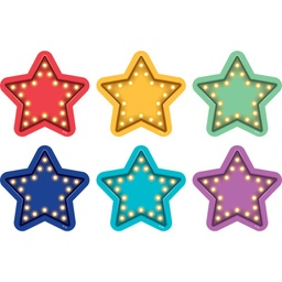 [77381 TCR] Marquee Stars Carpet Spot On Floor Markers