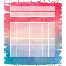[8970 TCR] Watercolor Incentive Charts