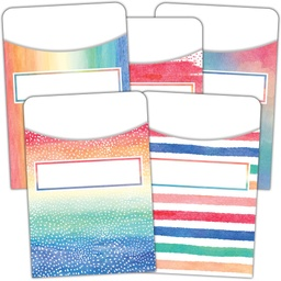 [5816 TCR] Watercolor Library Pockets Multi-Pack